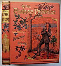 The Pilgrims Progress - John Bunyan, Hardback, C1900+, S.W. Partridge.