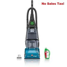 Upright Vacuum Cleaner SteamVac Carpet Fabric w/ Clean Surge Steam Spinscrub New