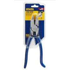"IRWIN VISE GRIP 9"" IRONWORKER'S SPRING LOADED LINESMAN PLIERS WIRE CUTTER #IP9"