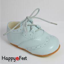 BABY INFANT BOYS SPANISH STYLE SIZE 4   MATT BROGUE LACE-UP WALKING SHOE