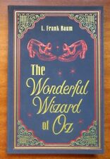 The Wonderful Wizard of Oz by L. Frank Baum 2018 Paper Mill Press suede cover