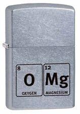 Zippo 29062 omg-element table street chrome finish full size Lighter