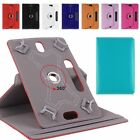 Folio 360° Leather Case Cover For Universal Android Tablet PC 7