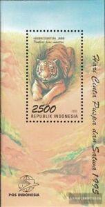 Indonesia Bloque 104 (edición completa) nuevo 1995 flora y fauna