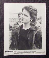 """1987 LIGHT OF DAY Promo Movie Still 8x10"""" FN- 5.5 Michael J Fox LD-8"""