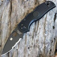 Couteau Spyderco Native 5 Black Lightweight Acier CPM-S35VN Serr SC41PSBBK5