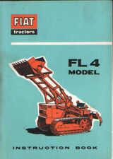 Fiat Crawler Tractor FL4 Operators Manual