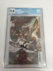 Conan Serpent War 1 1:50 InHyuk Lee Variant CGC 9.8 SCARCE Marvel Comics