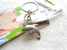 Anime Free!iwatobi swim club Tachibana Makoto Killer whale shape metal keychain