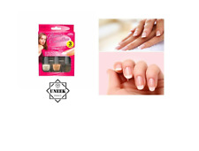 FRENCH MANICURE NAIL VARNISH SET White Nude  Clear Top Coat Box Gift PM072273 UK