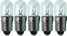 5x Glühlampe Glühbirne Lampe Birne Röhre Ersatz E10 6,3V 0,3A 1,89W  174551