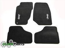02-04 Jeep Liberty Dark Slate Carpet Floor Mats FRONT & REAR OEM MOPAR 82208879