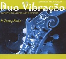 Dou vibracao * A Jazzy Note * Digipack CD 2008 NUOVO SIGILLATI MAX Schaaf