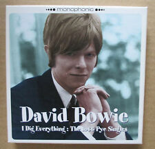 David Bowie – I Dig Everything The 1966 Pye Singles - 2000 UK 3xCD Box Set MINT