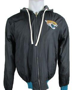 Jacksonville Jaguars Men's Full Zip Reversible Hooded Jacket Size S-4XL NFL