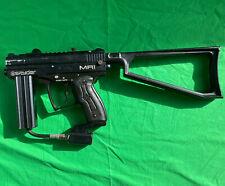 Kingman Spyder Paintball Gun Marker Black Mr1 Tested Working