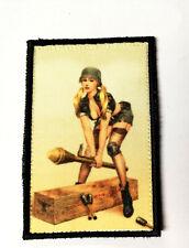 Sexy German Girl Patch Morale Militaire Tactique Armée Drapeau 7,6cm x5cm