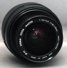 Minolta AF 35-70mm SIGMA AUTO ZOOM f/3.5 Lens SLR DSLR Camera SONY A Alpha