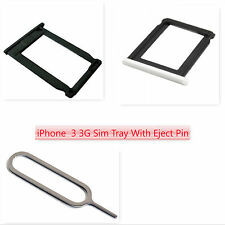 Sim Card Tray Spacer Holder Slot Eject Pin For iPhone 3G 3GS