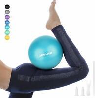 Trideer Pilates Ball, Barre Ball, Mini Exercise Ball, 9 Inch Small Bender Ball,