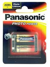 Panasonic 2CR5 6V Lithium Battery (DL245EL, 2CR-5L, KL2CR5, 2CR5R)