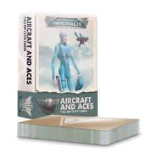 Aircraft & Aces Tau Air Caste Cards Aeronautica Imperialis Warhammer 40K 6/13