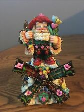 Crinkle Claus by Possible Dreams 659604 Music Box Dutch Treat Crinkle