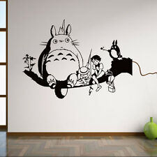 My Neighbor Totoro Cartoon Vinyl Wall Sticker Kids Nursery Room Mural Art Decor