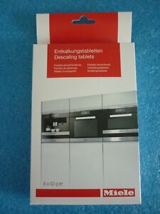 Genuine new Miele Descaling tablets for steam oven/ coffee machine- 10178330