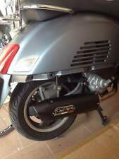 Vespa GTS300 Exhaust Full System by GPR Furore NERO with stainless pipework