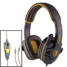 SADES SA-708 GPOWER Stereo PC Gaming Headset Headphones Noise Cancel Mic NEW yel