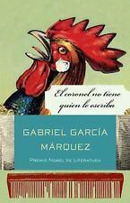 El coronel no tiene quien le Escriba by Gabriel García Márquez (2010, Paperback)