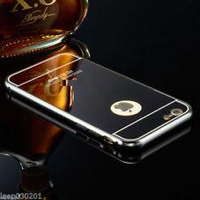 Fundas y carcasas metálicas Para iPhone 8 color principal negro para teléfonos móviles y PDAs