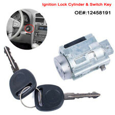 Replacement Ignition Lock Cylinder & Switch Key 12458191 For Chevy Olds Pontiac