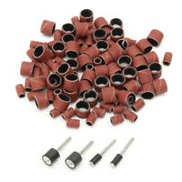 For Polishing Tools Mandrels Drum Rotary & Bands Sanding 100pcs Kit Tool Set