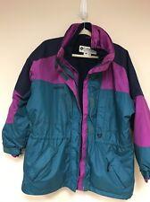 Columbia Woman's  3 in 1 Interchange Purple Jacket - Sz Large ski NEEDS ZIPPER