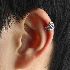 ORECCHINO MANO ARGENTATO SENZA FORO, BUCO - CUFF CLIP WRAP EARRING