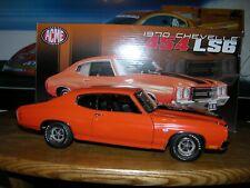 ACME Orange 1970 454 LS6 Chevelle  A1805502 LE 1/996 New in Unopened Box
