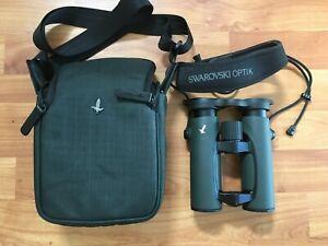 Swarovski EL 8 x 32 SV Binoculars Swarovision Field Bag Pro Case - Excellent