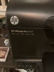 HP OfficeJet Pro 8600 All in one Wireless Color Printer - Black