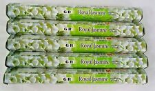 Royal Jasmine 100 Incense Sticks (5 X 20 Stick Packs) Gr Incense Sticks