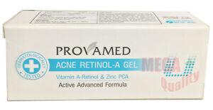 Provamed Acne Retinol-A Gel Anti-bacterial Reduce Comedone Tighten Pores 5g.