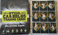 NICE SET! ~ 2015-16 tap n play cricket BBL set + folder + bonus album card