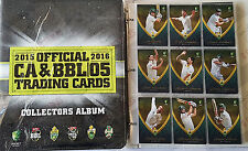 NICE SET! ~ 2015-16 tap n play cricket BBL set + folder + bonus album card