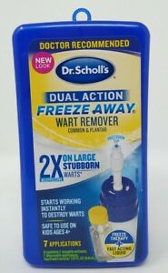 Dr. Scholl's Dual Action Freeze Away Wart (Common & Plantar) Remover #0084