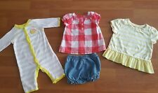 Lot Of 2 Baby Girl Carters Gap Size 3 Months Spring Summer clothes EUC