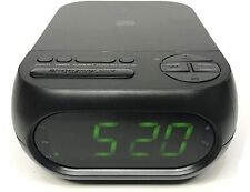 New ListingOnn Cd/Am/Fm Alarm Clock Radio with Usb Port to Charge Devices + Aux-in Jack
