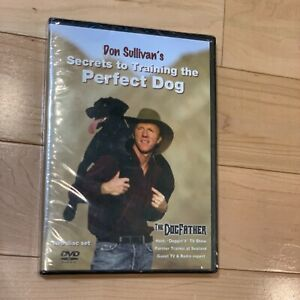 Don Sullivan's Secrets to Training the Perfect Dog 2 DVD Sealed BNIB FAST SHIP