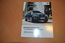 CATALOGUE BMW X6 de 2012