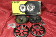 "Kicker CSC67 Car Audio Full Range 6 3/4"" Coaxial 600W Speakers Pair 43CSC674 #N1"